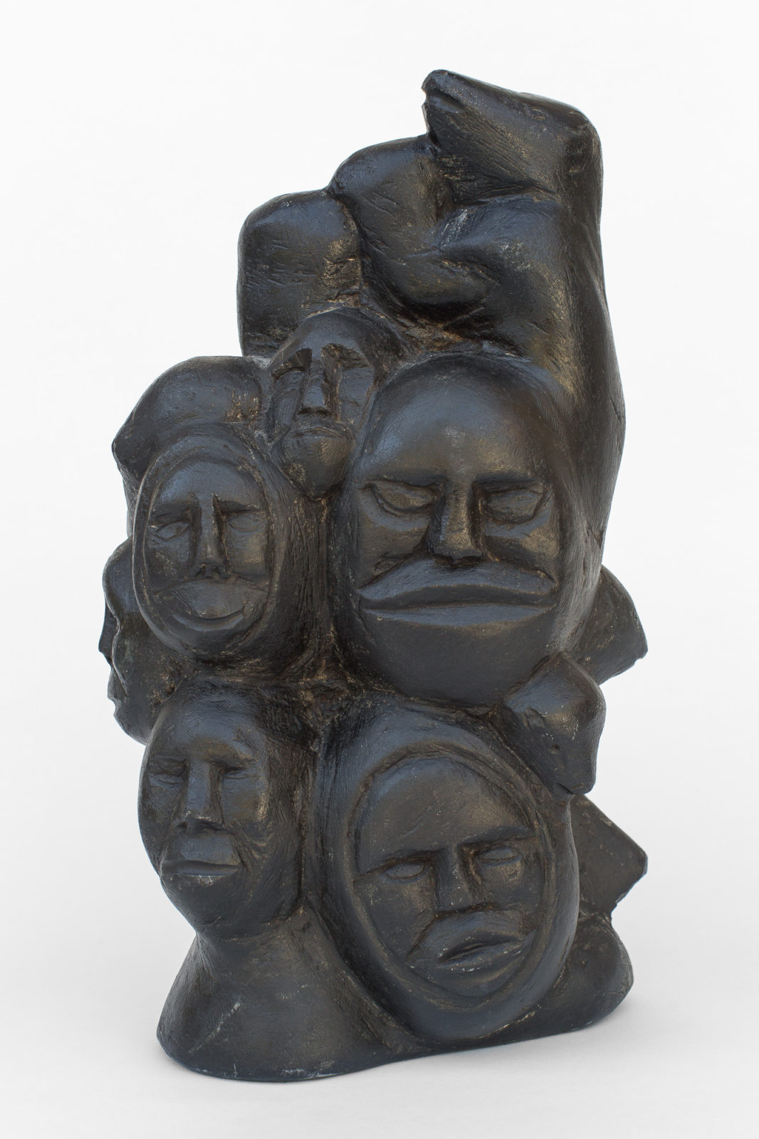 Silas Aittauq - untitled (head cluster)