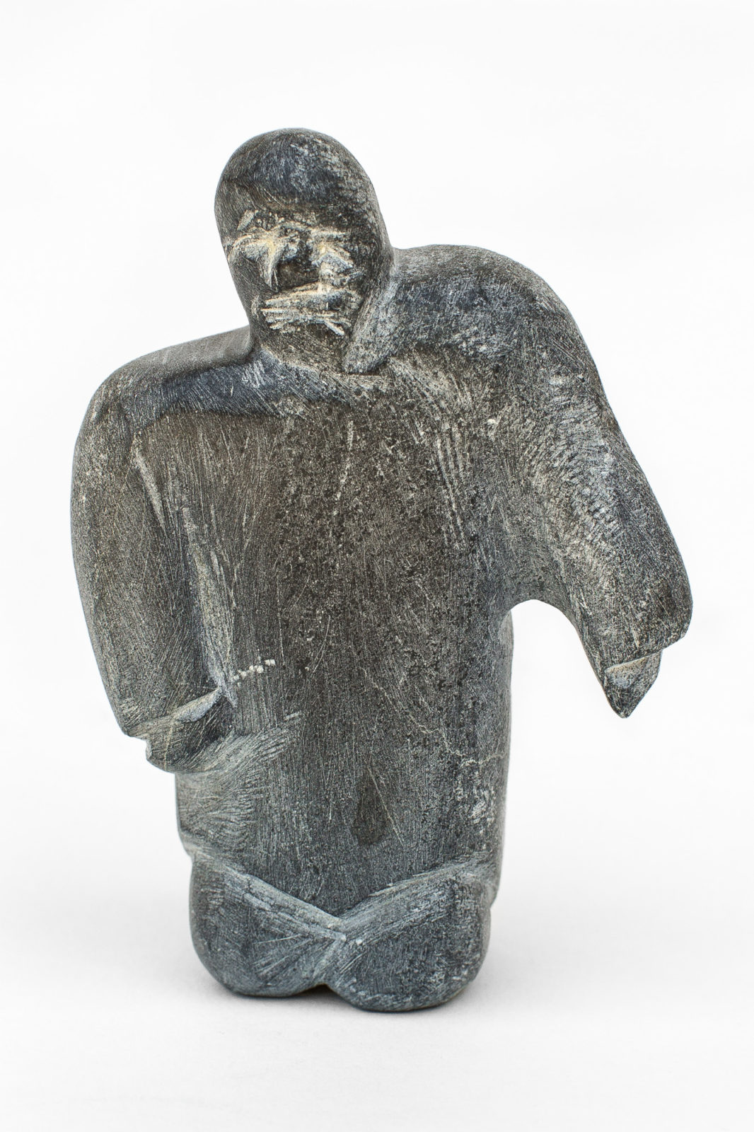 Eli Tikeayak - untitled (man with shoulder up)