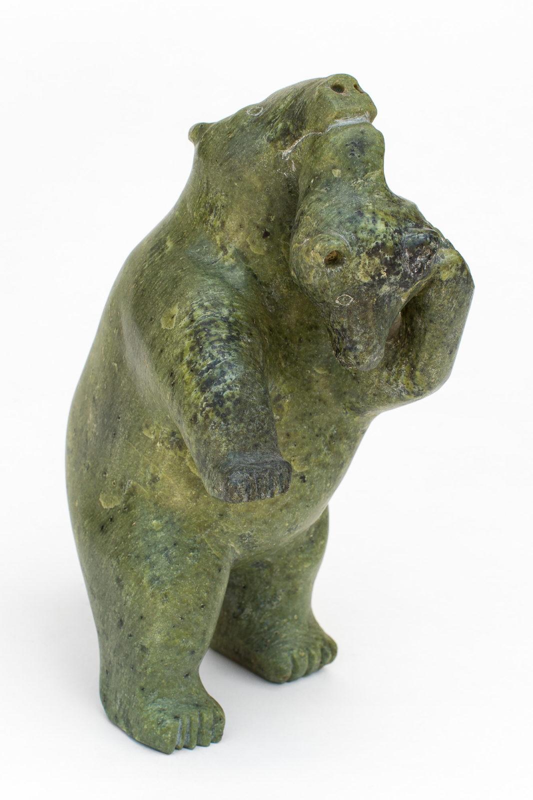 Kiakshuk - untitled (bear eating wolf)