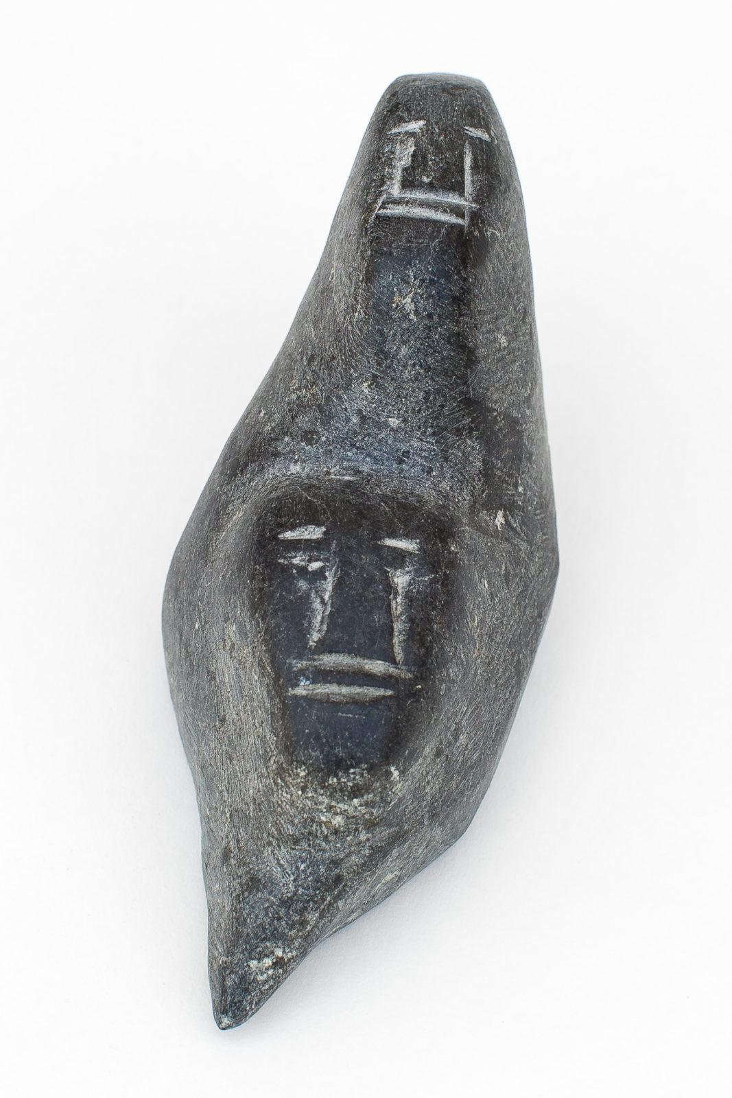 Theresa Akadlaka - untitled (two heads)