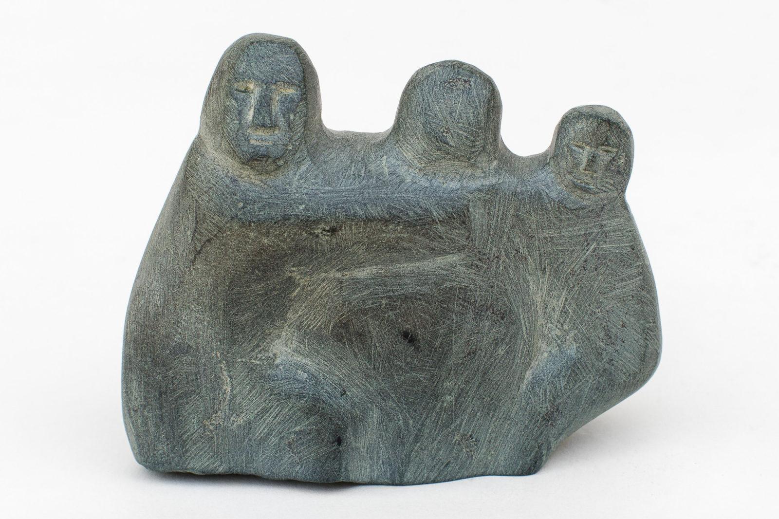 Ada Eyetoaq - untitled (three figures)