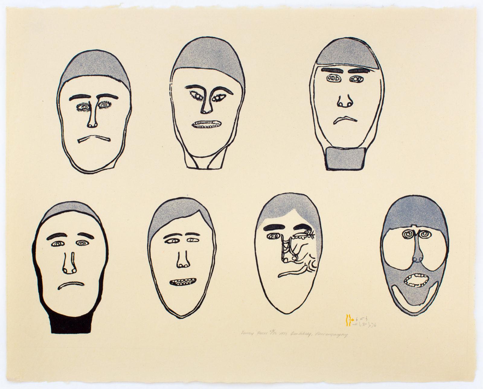Harold Qarliksaq - Funny Faces