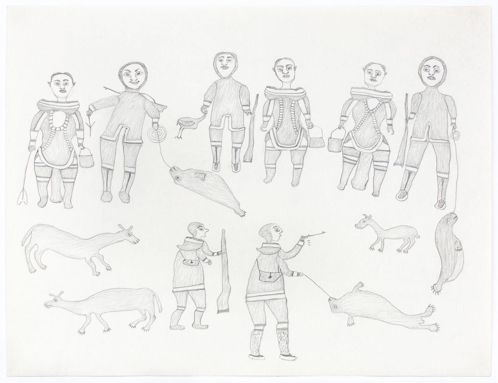 Kiakshuk - untitled (seal hunting)
