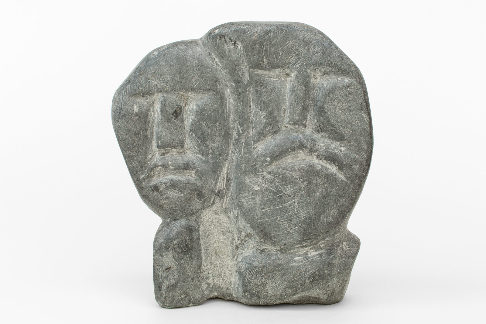Mary Kahootsuak Miki - untitled (faces)