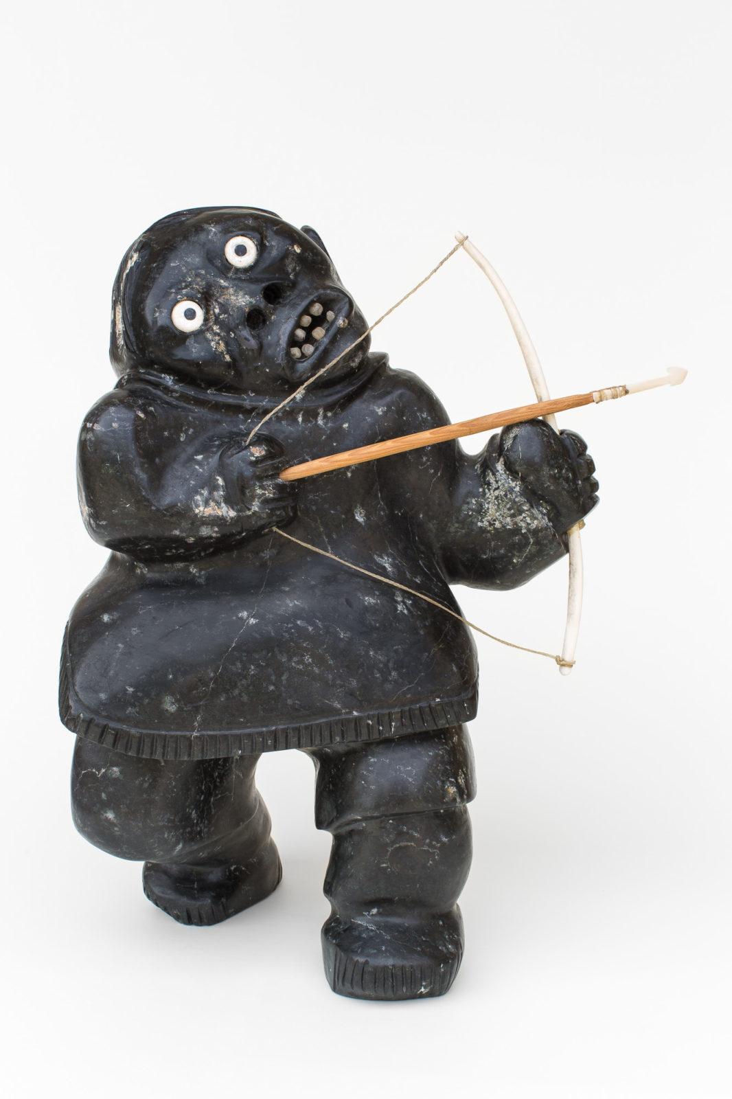 Nelson Takkiruq - untitled (archer)