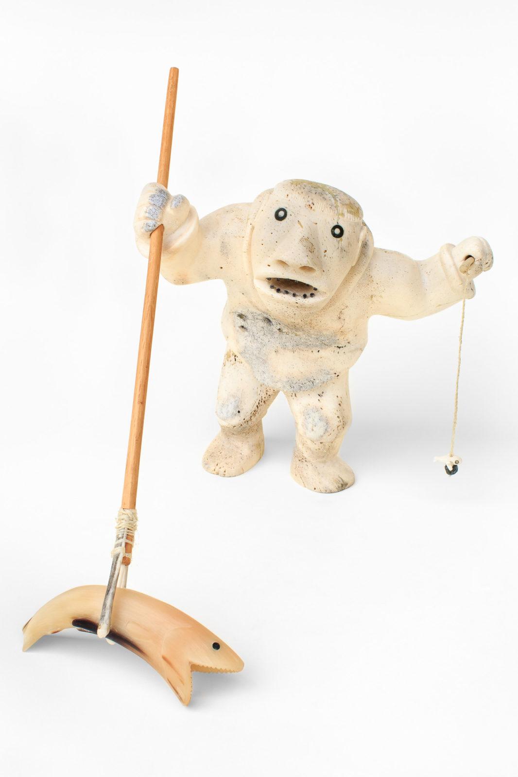 Nelson Takkiruq - untitled (fisherman)