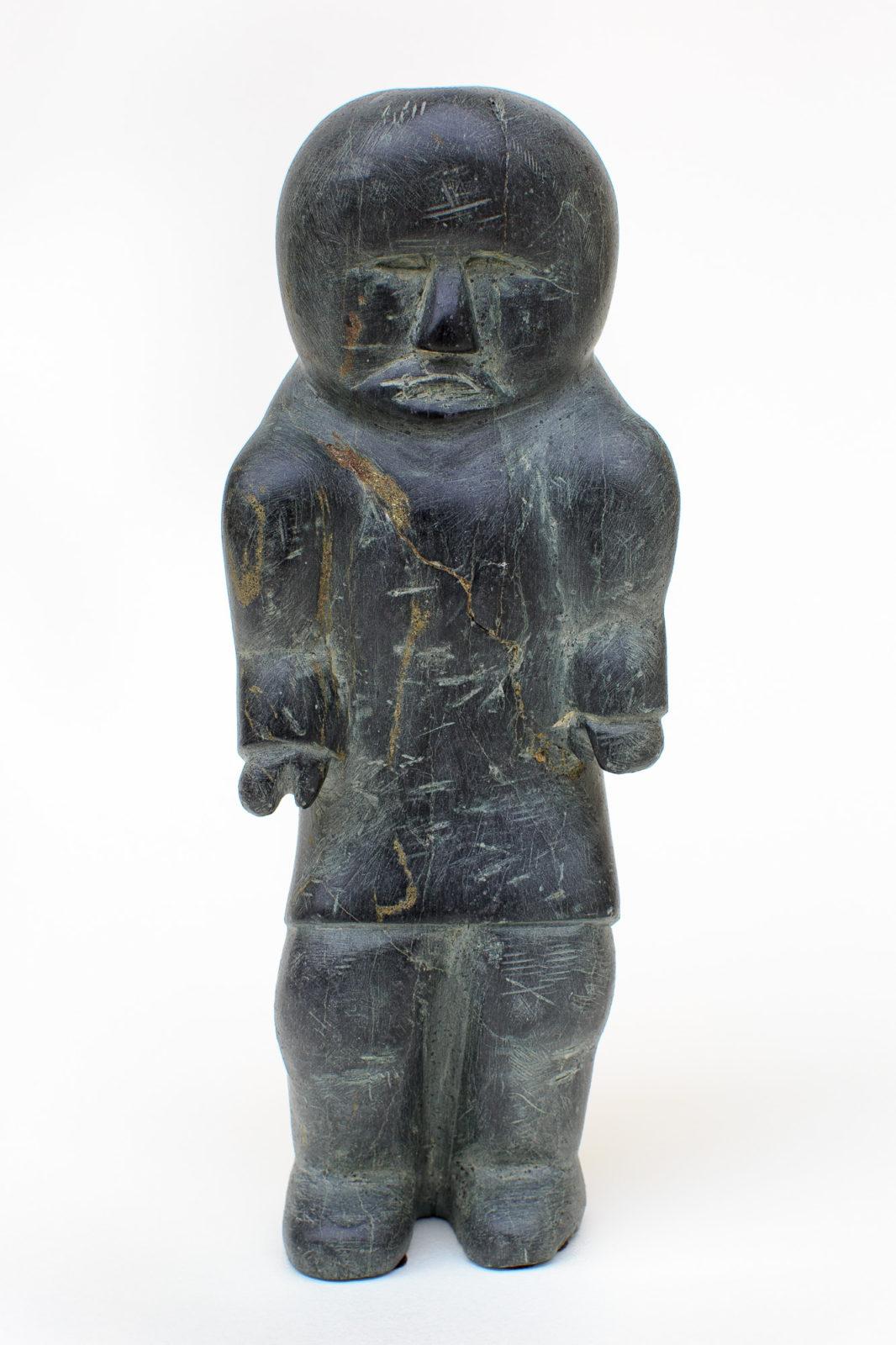 Mark Uqayuittuq - untitled (standing figure)
