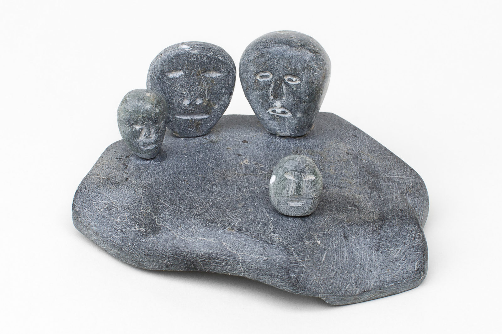 Theresa Alunak Angmak - untitled (head group)