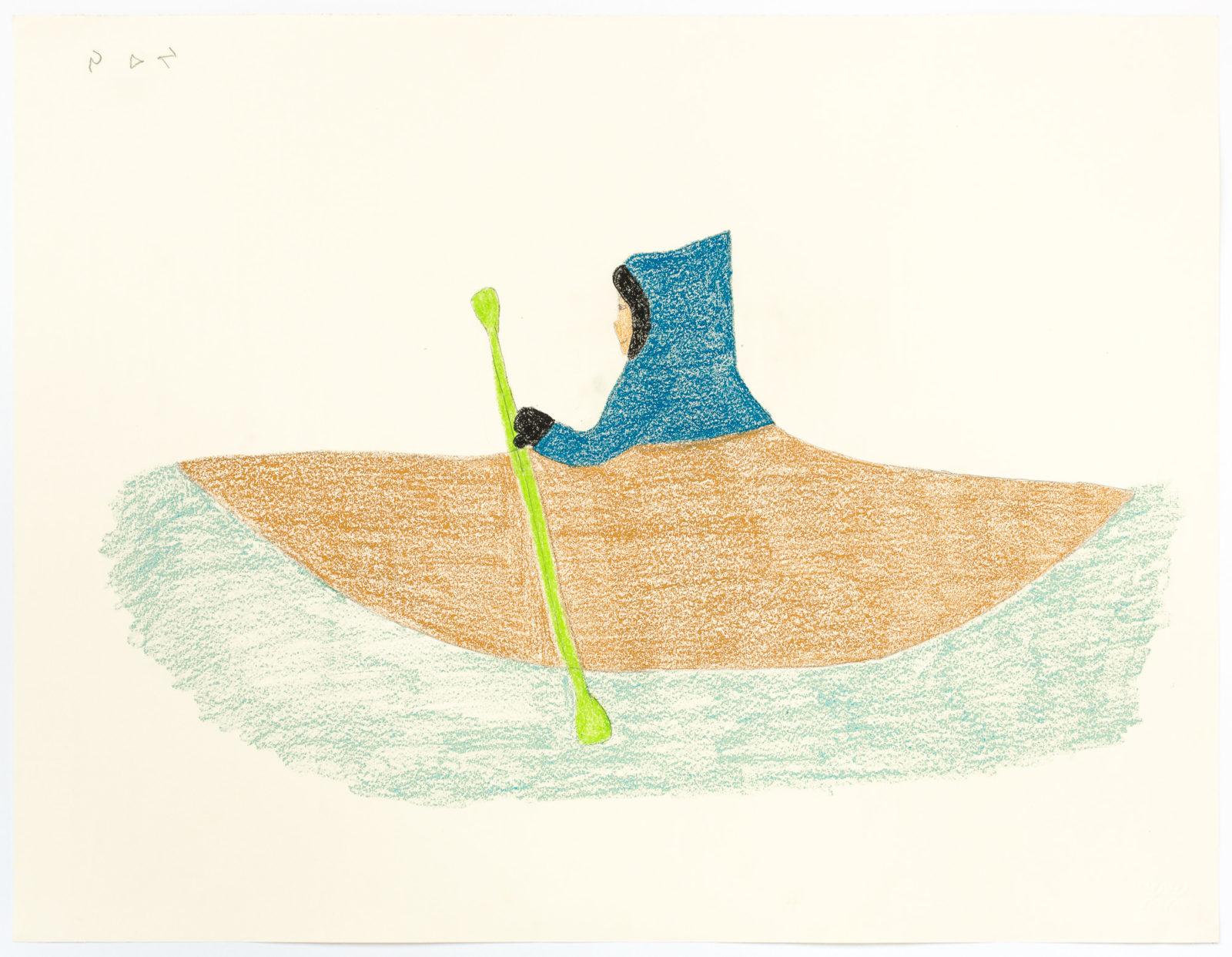 Sheojuk Etidlooie - untitled (kayaker)