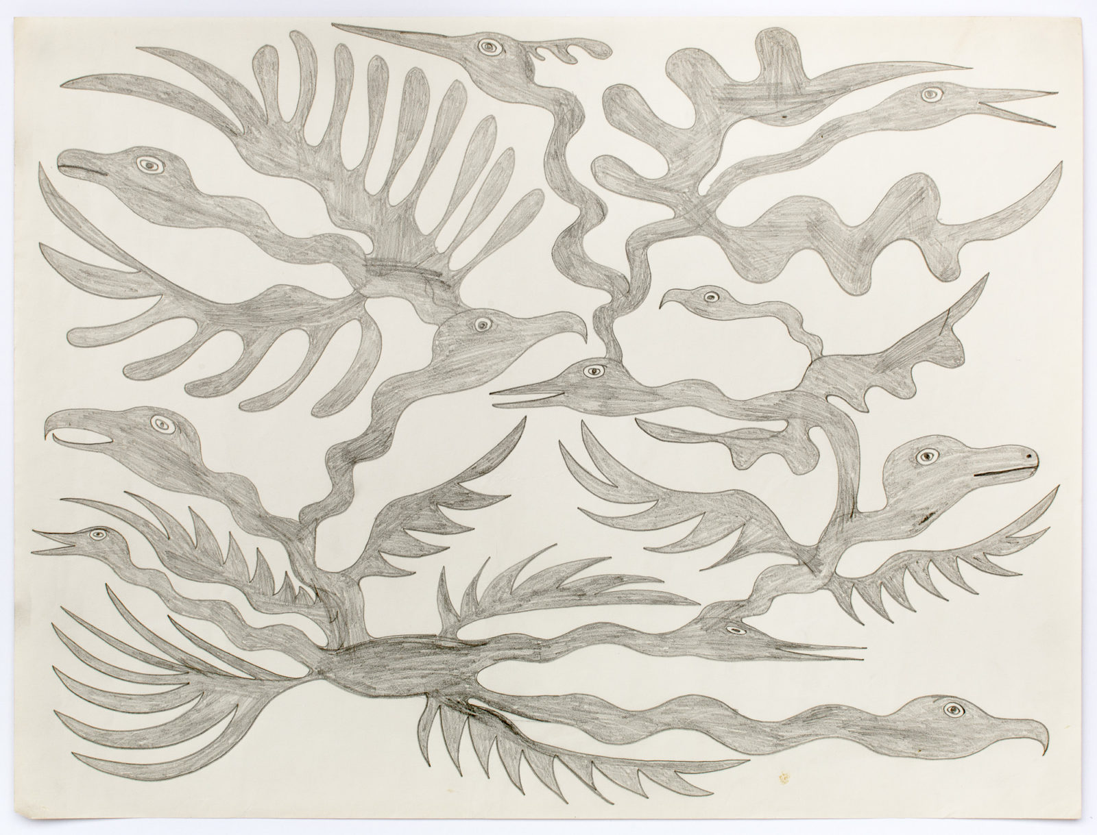 Kenojuak Ashevak - untitled (birds)