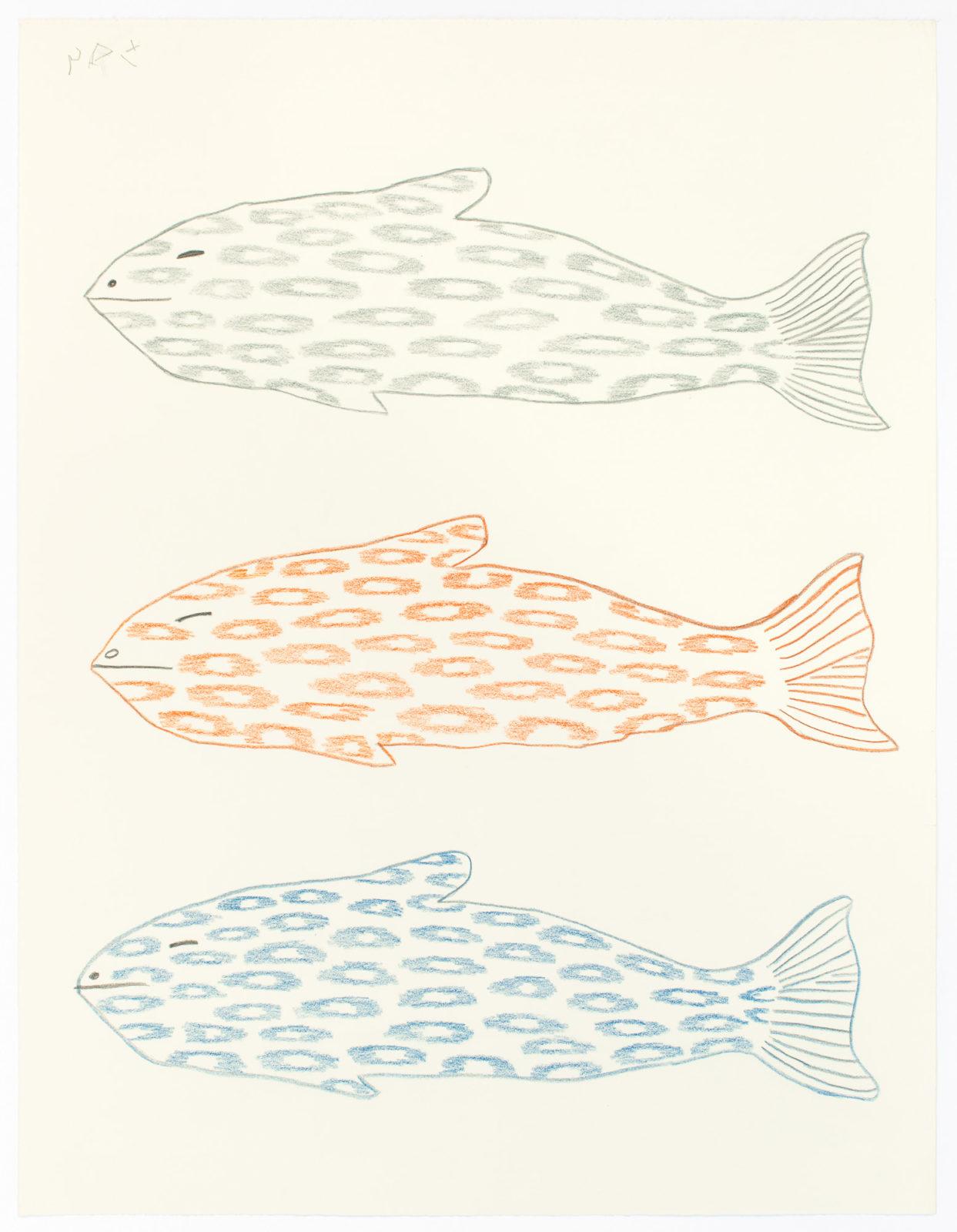 Sheojuk Etidlooie - untitled (three fish)