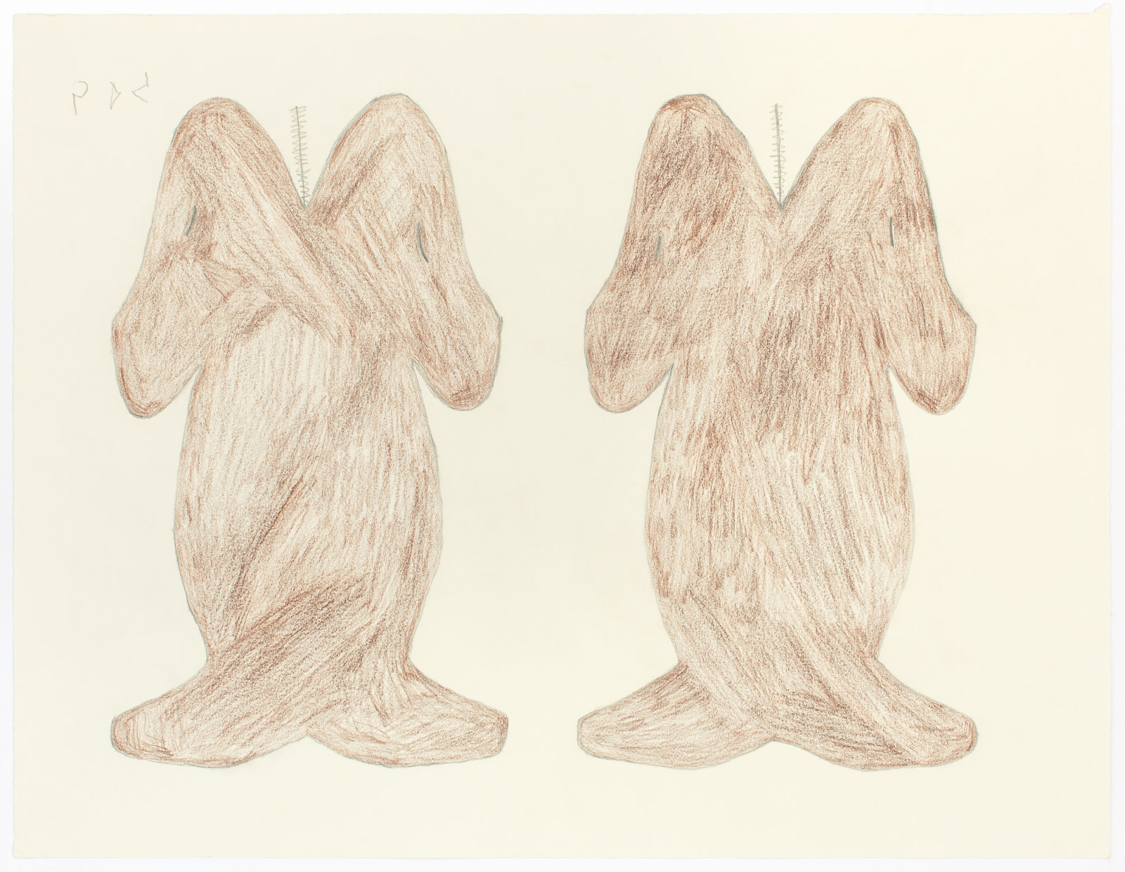 Sheojuk Etidlooie - untitled (two narwals brown)