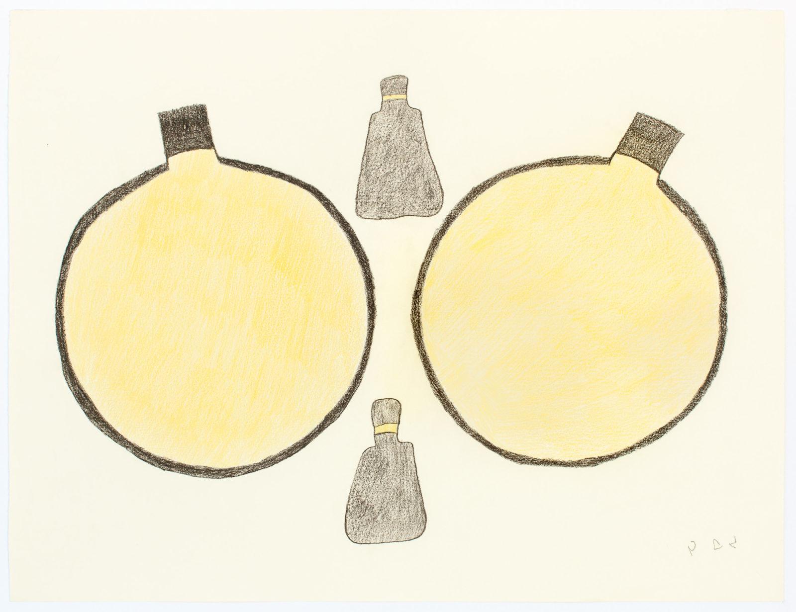 Sheojuk Etidlooie - untitled (drums and snow shovels)