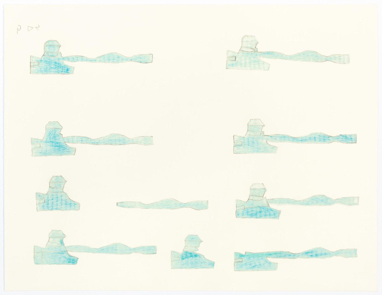 Sheojuk Etidlooie - untitled (abstract composition)