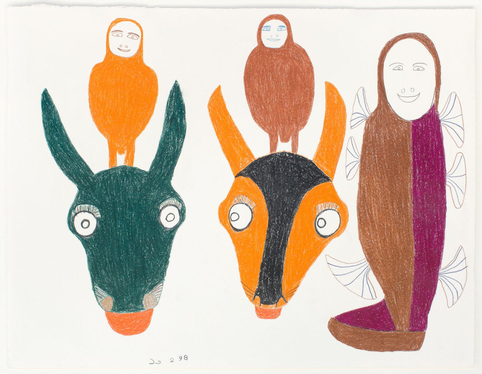 Marion Tuu'luq - untitled (animal people)