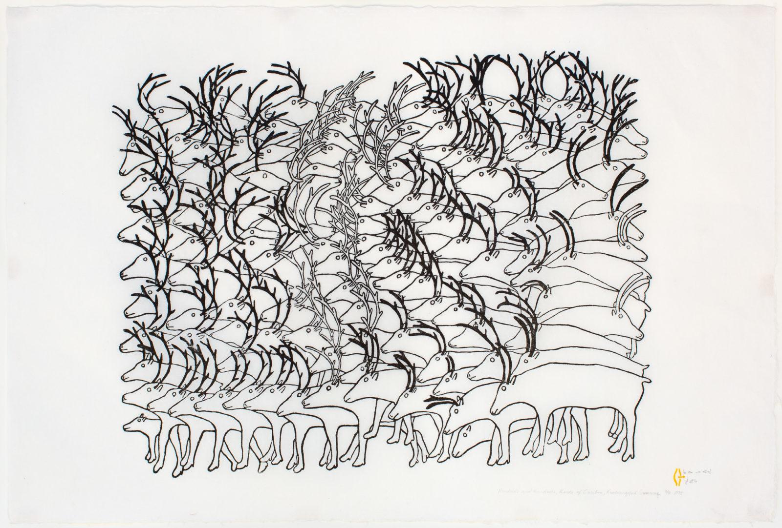 Ruth Qaulluaryuk - Hundreds And Hundreds, Herds Of Caribou