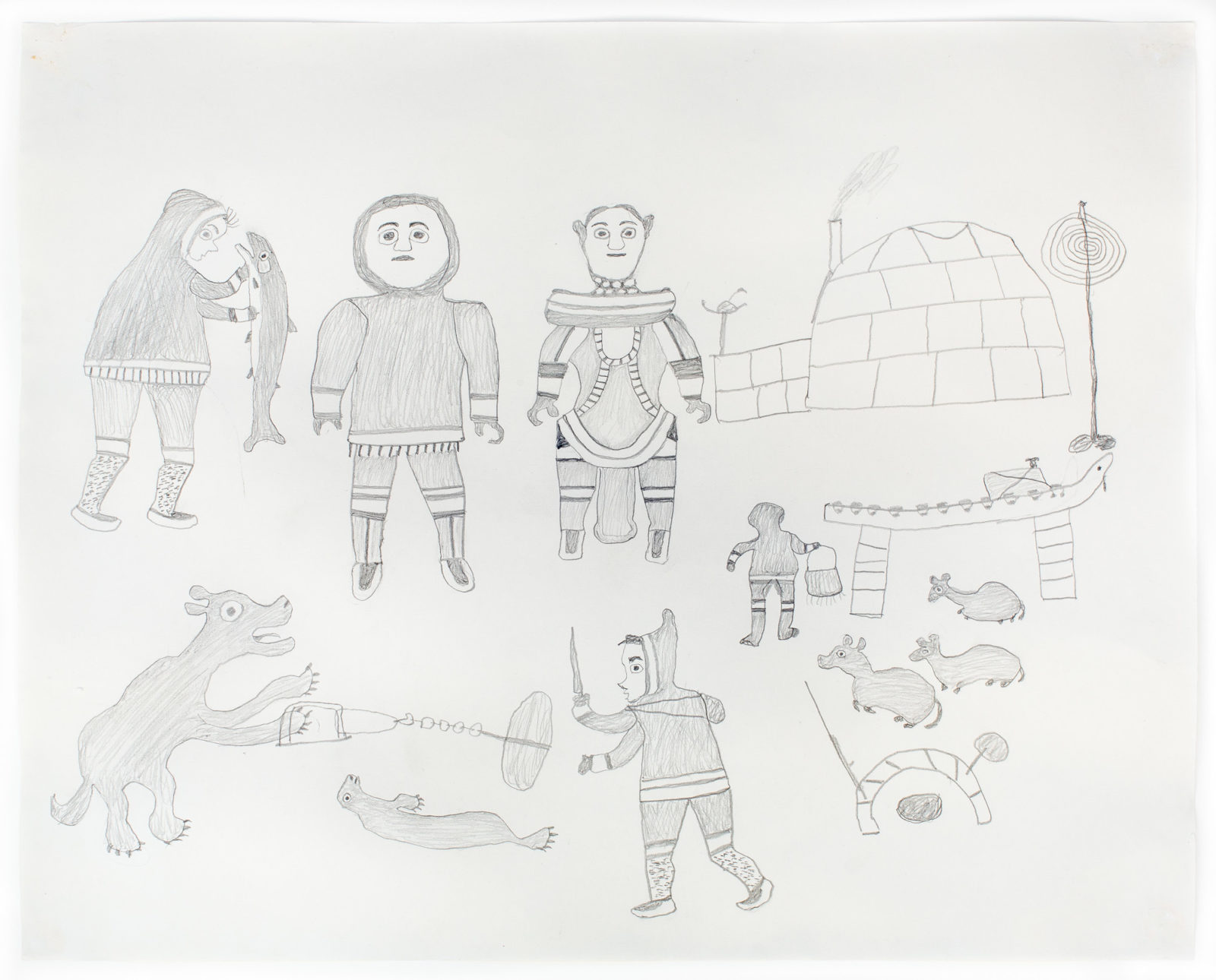 Kiakshuk - untitled (composition)