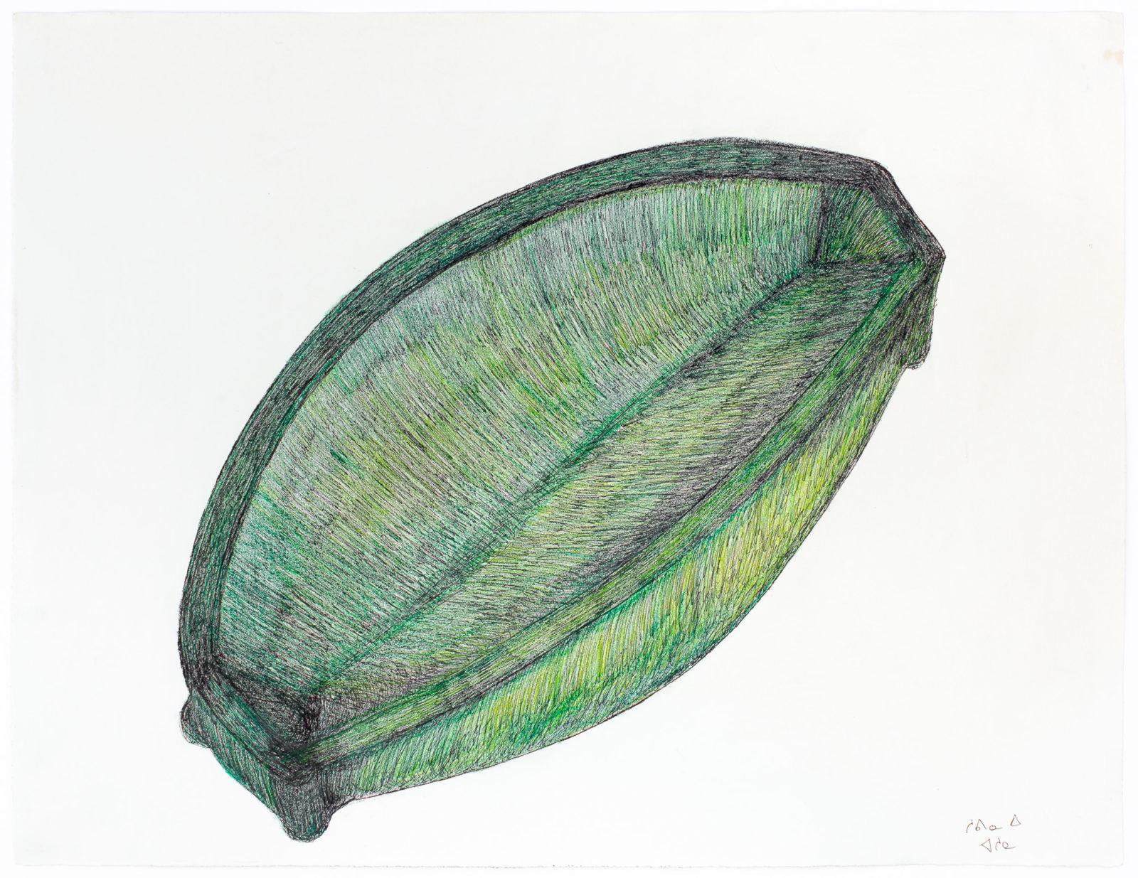 Shuvinai Ashoona - untitled (kudluq - oil lamp)