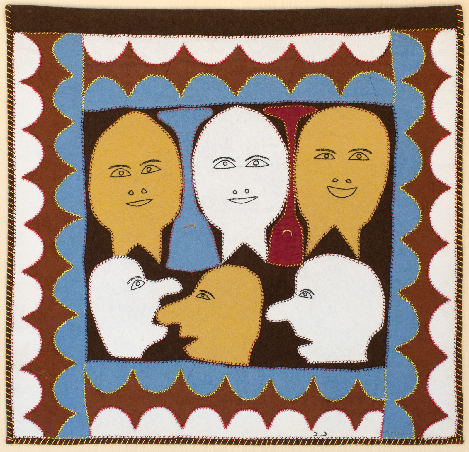 Marion Tuu'luq - untitled (faces)