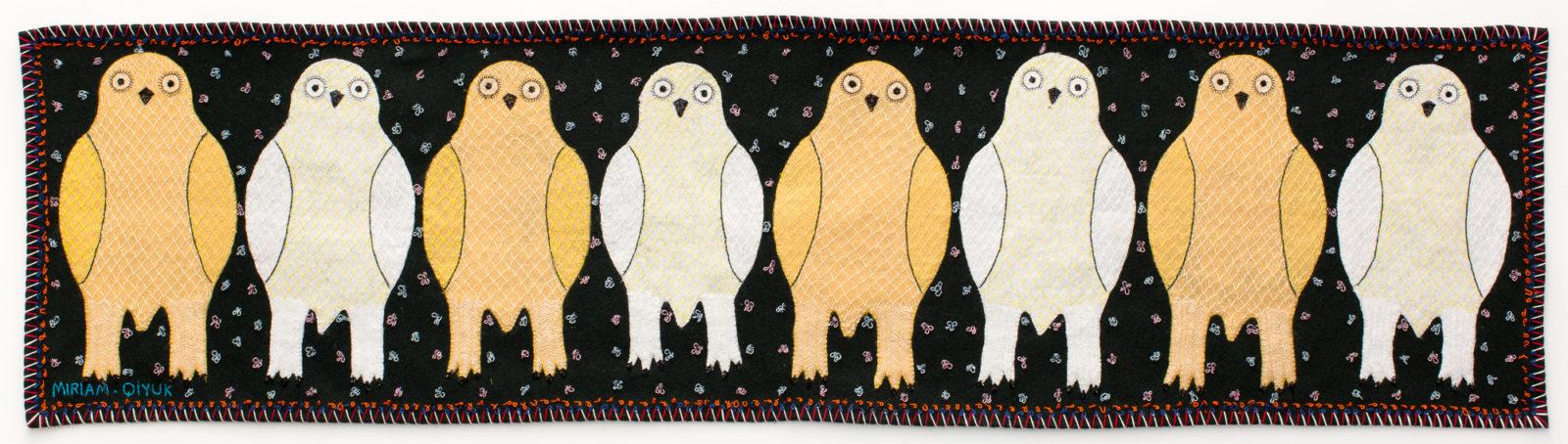 Miriam Qiyuk - untitled (eight owls)