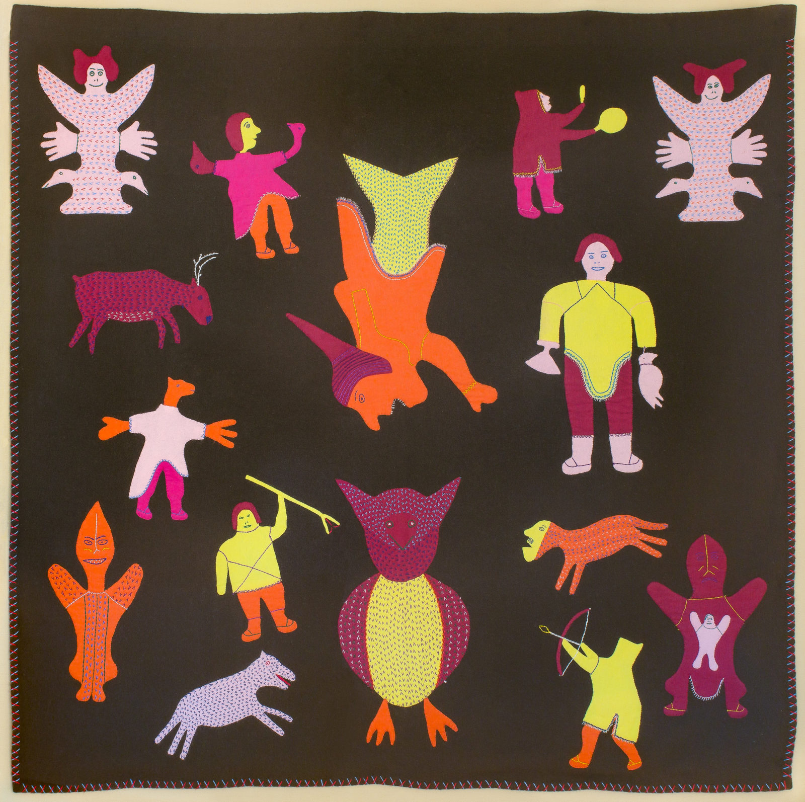 Naomi Ityi - untitled (hunters and spirits)