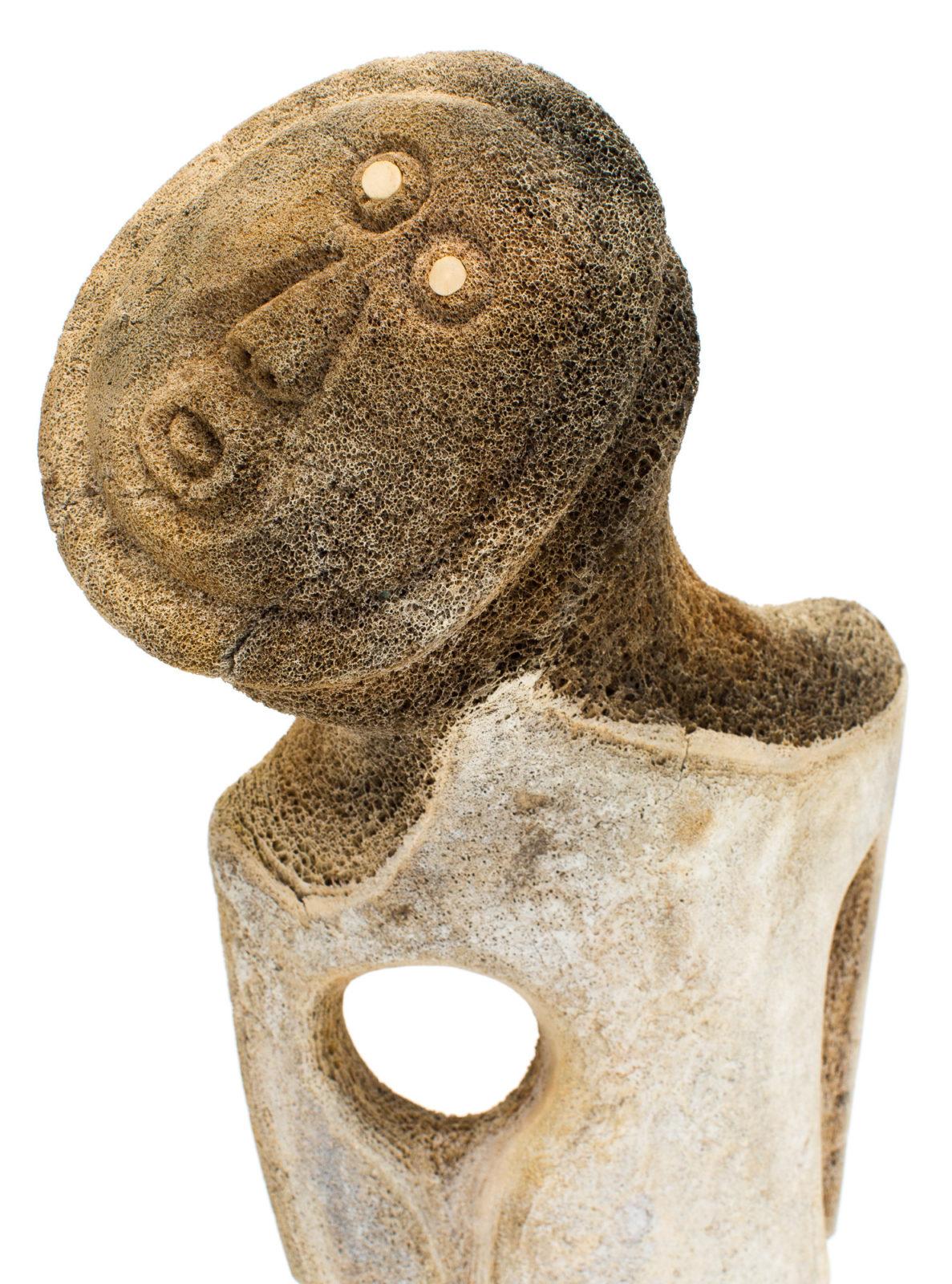 Karoo Ashevak - untitled (standing figure)