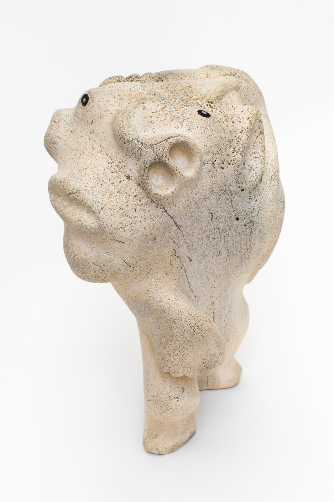 Abe Kingmiaqtuq - untitled (spirit figure)
