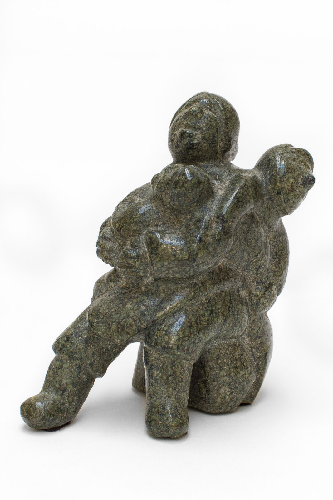 Bernadette Iguptaq Tongelik - untitled (woman with children)