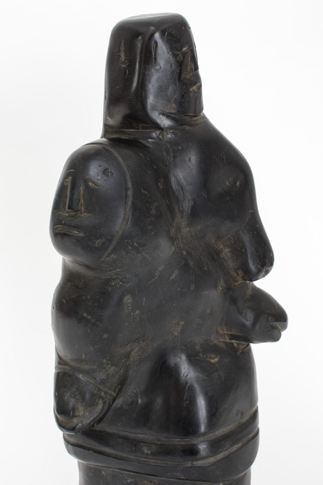 William Anautalik - untitled (father carrying son)