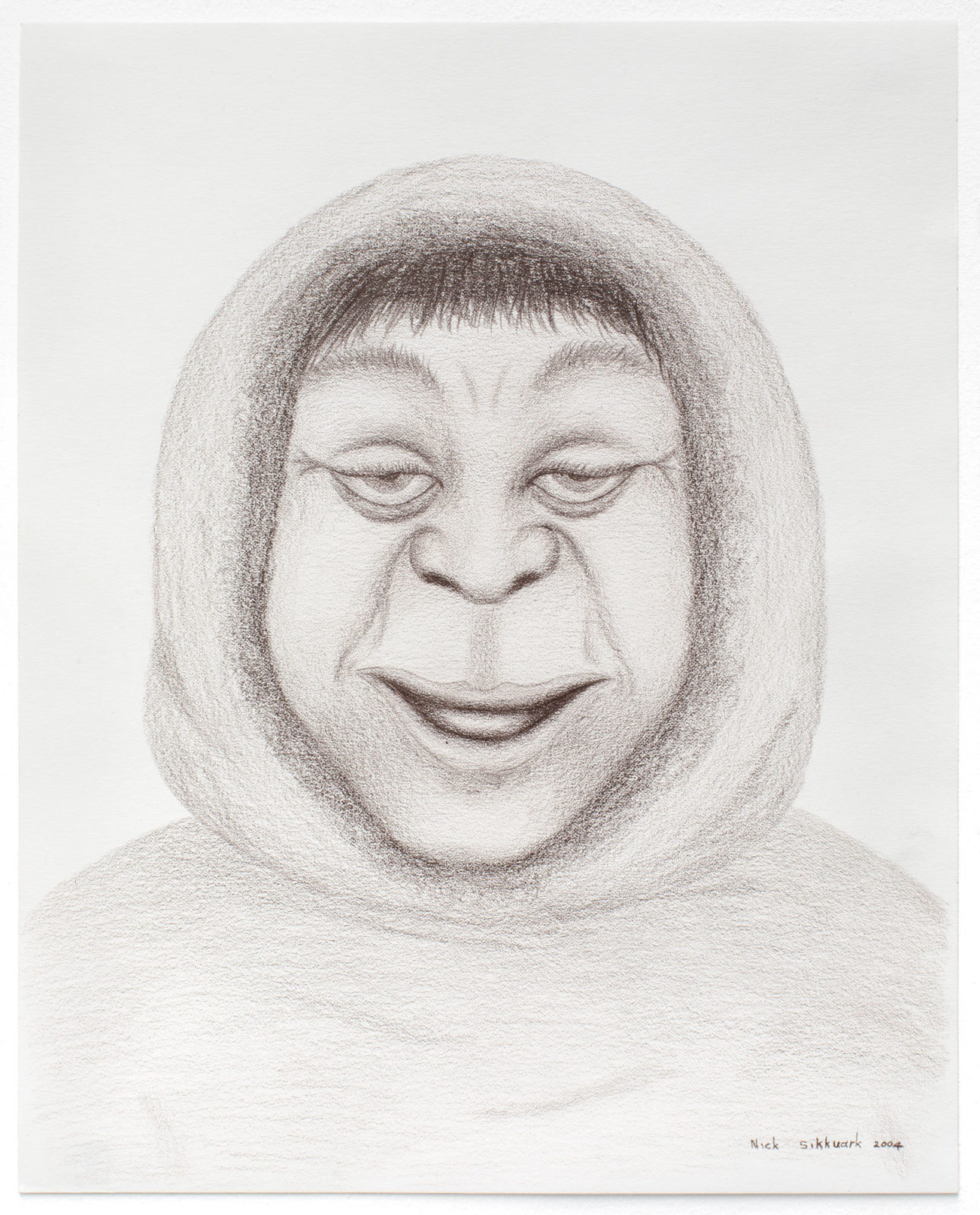 Nick Sikkuark - untitled (portrait)