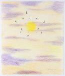 Nick Sikkuark - untitled (flying shaman's against the sun)