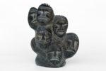 Silas Aittauq - untitled (head cluster)