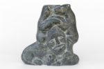 Silas Aittauq - untitled (head with bears)