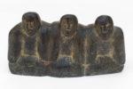 Ada Eyetoaq -  untitled (facing three figures)