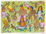 Ruth Annaqtuusi Tulurialik - untitled (people totem)