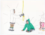 Annie Pootoogook - Hanging
