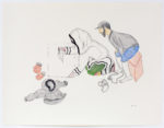 Napatchie Pootoogook - untitled (drawing)