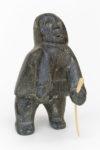 Thomas Ugjuk - untitled (man with walking stick)