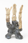Vital Okoktok - untitled (figure with totems)
