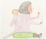 Mary Ayaq Anowtalik - Juggling Mother With Child