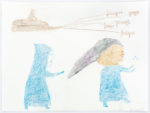 Luke Anowtalik - Teenage Boy Chasing A Juggling Girl