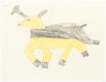 Sheojuk Etidlooie - untitled (caribou)