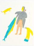 Luke Anguhadluq - untitled (woman with big fish)