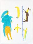 Luke Anguhadluq - untitled (woman with animals)