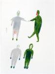 Luke Anguhadluq - untitled (four standing figures)