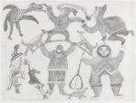 Koonoo - untitled (man and pipe)