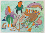 Ruth Annaqtuusi Tulurialik - untitled (camp scene with pipe)