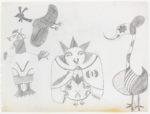 Koonoo - untitled (birds)