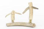 Luke Anowtalik - untitled (husband and wife gathering)